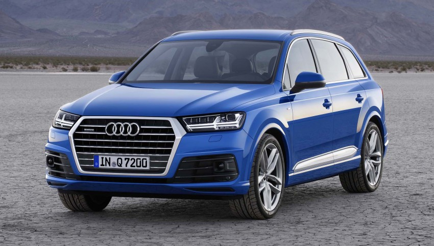 Audi Q7 – second generation 7-seater SUV debuts Image #295875
