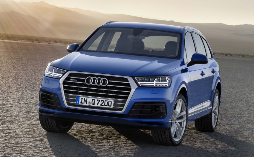 Audi Q7 – second generation 7-seater SUV debuts Image #295876
