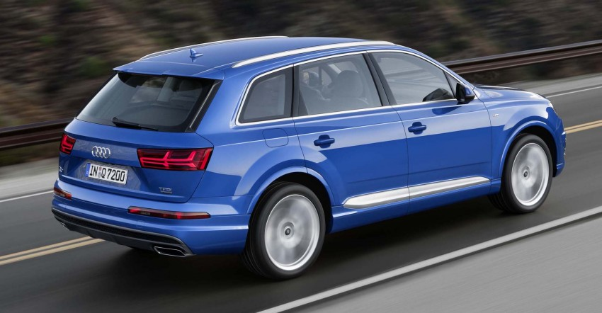 Audi Q7 – second generation 7-seater SUV debuts Image #295877