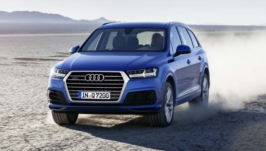 Audi Q7 – second generation 7-seater SUV debuts Image #295878