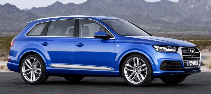 Audi Q7 – second generation 7-seater SUV debuts Image #295879