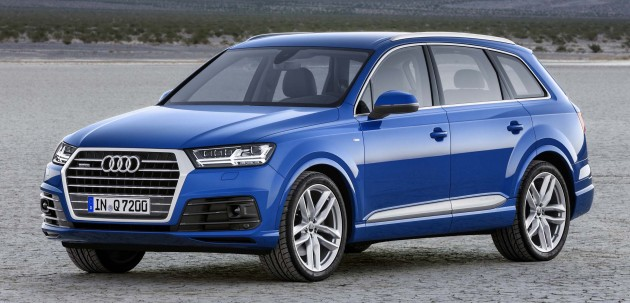 Audi Q Second Generation Seater SUV Debuts - Audi car 7 seater