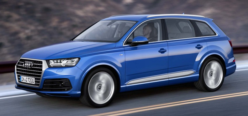 Audi Q7 – second generation 7-seater SUV debuts Image #295882
