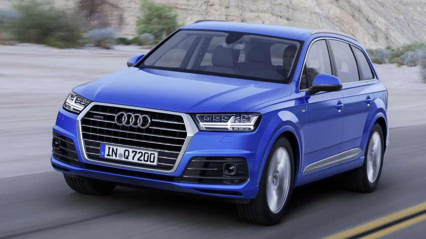 Audi Q7 – second generation 7-seater SUV debuts Image #295883