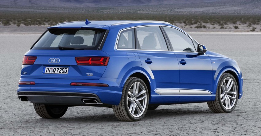 Audi Q7 – second generation 7-seater SUV debuts Image #295884