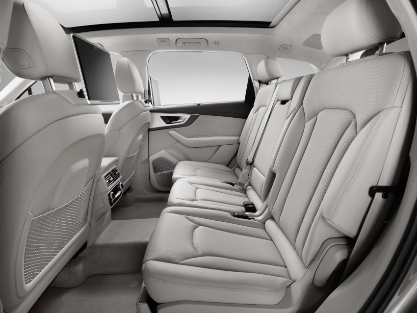 Audi Q7 – second generation 7-seater SUV debuts Image #295885