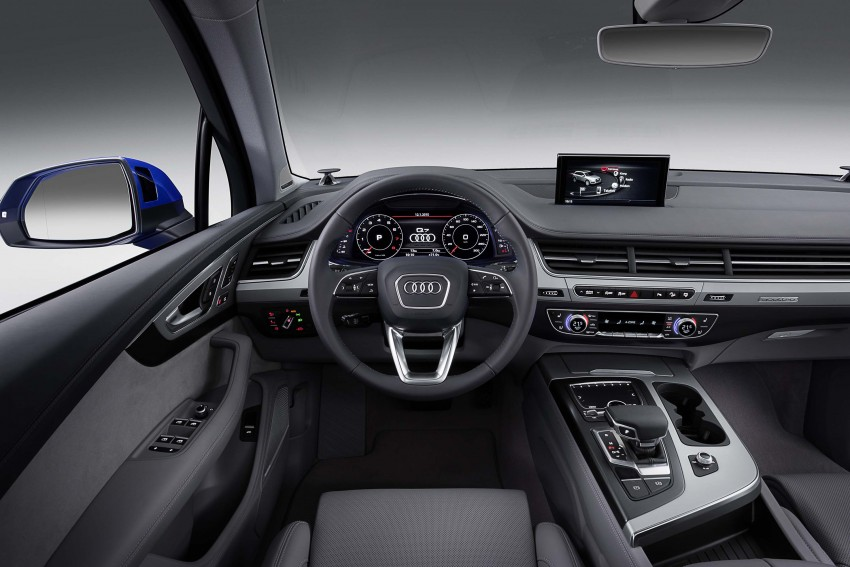 Audi Q7 – second generation 7-seater SUV debuts Image #295886
