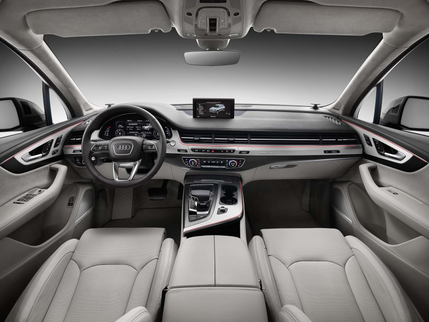 Audi Q7 – second generation 7-seater SUV debuts Image #295887