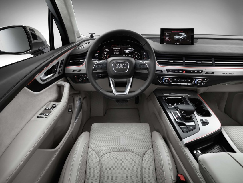 Audi Q7 – second generation 7-seater SUV debuts Image #295888