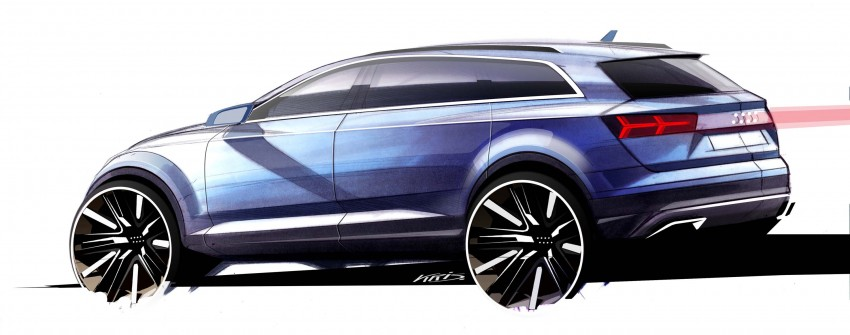 Audi Q7 – second generation 7-seater SUV debuts Image #295890