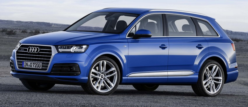 Audi Q7 – second generation 7-seater SUV debuts Image #295893