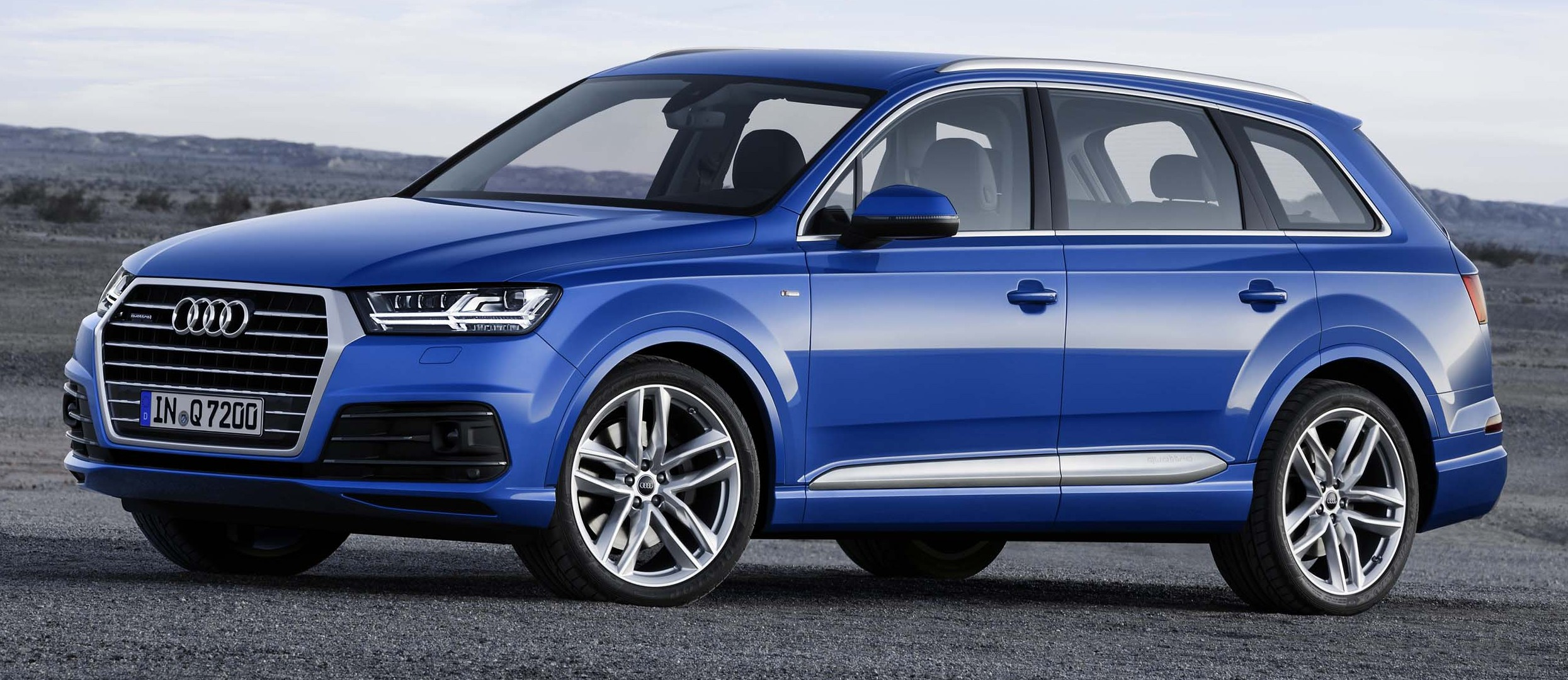 Audi Q7 Second Generation 7 Seater Suv Debuts Image 295893