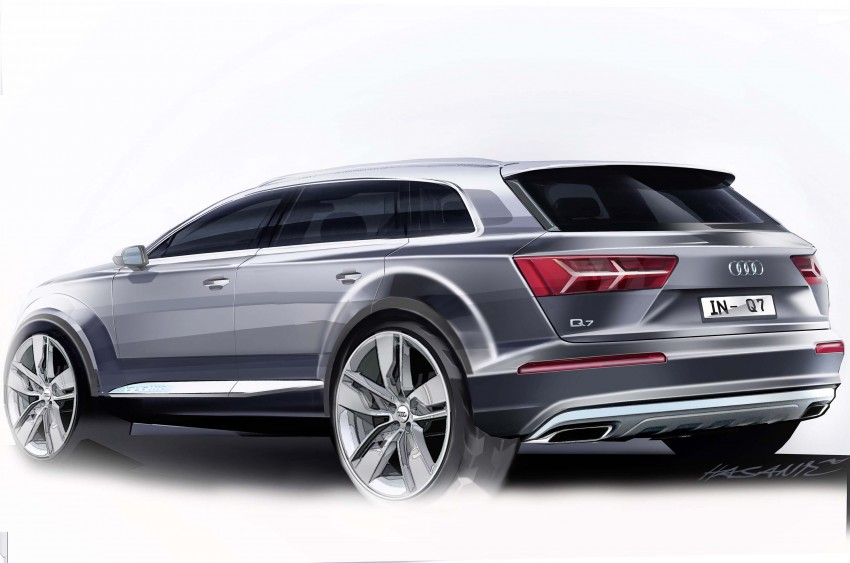 Audi Q7 – second generation 7-seater SUV debuts Image #295894