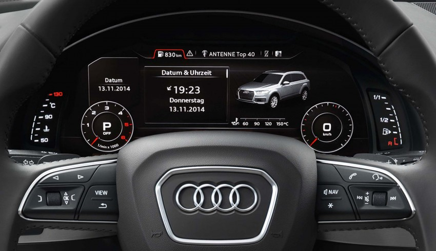 Audi Q7 – second generation 7-seater SUV debuts Image #295901