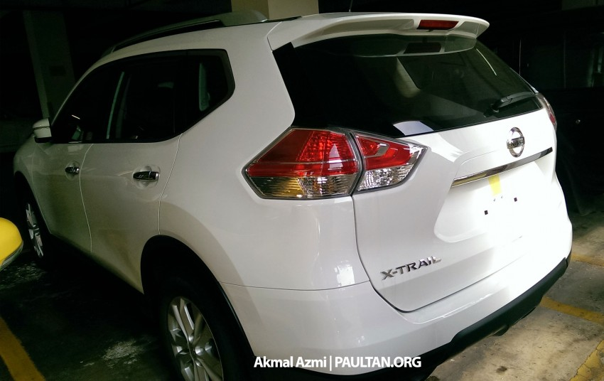 SPIED: 2015 Nissan X-Trail 2.0 2WD spotted at JPJ Image #293179