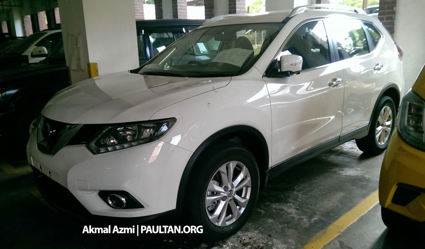 SPIED: 2015 Nissan X-Trail 2.0 2WD spotted at JPJ Image #293181