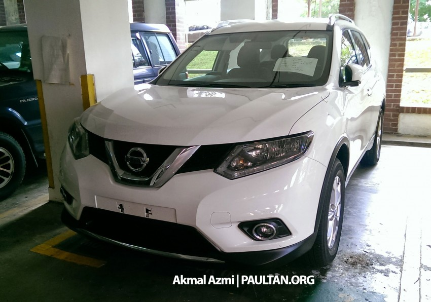 SPIED: 2015 Nissan X-Trail 2.0 2WD spotted at JPJ Image #293182