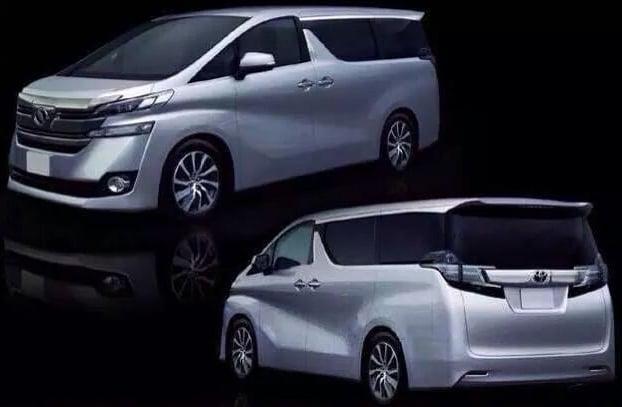 Toyota Alphard Vellfire Leaked Debut In January Image