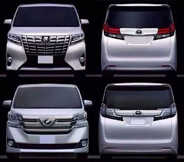 Toyota Alphard, Vellfire leaked - debut in January?