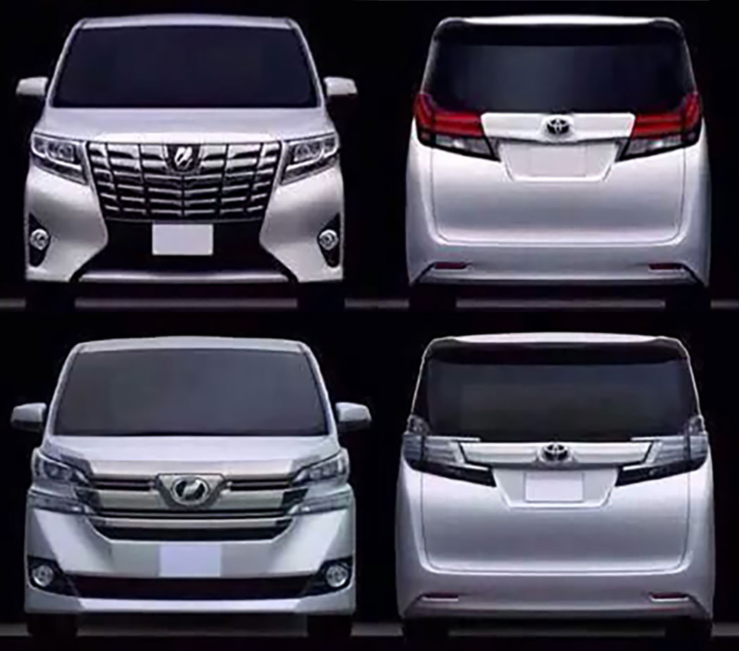 Toyota Alphard Vellfire Leaked Debut In January Paul