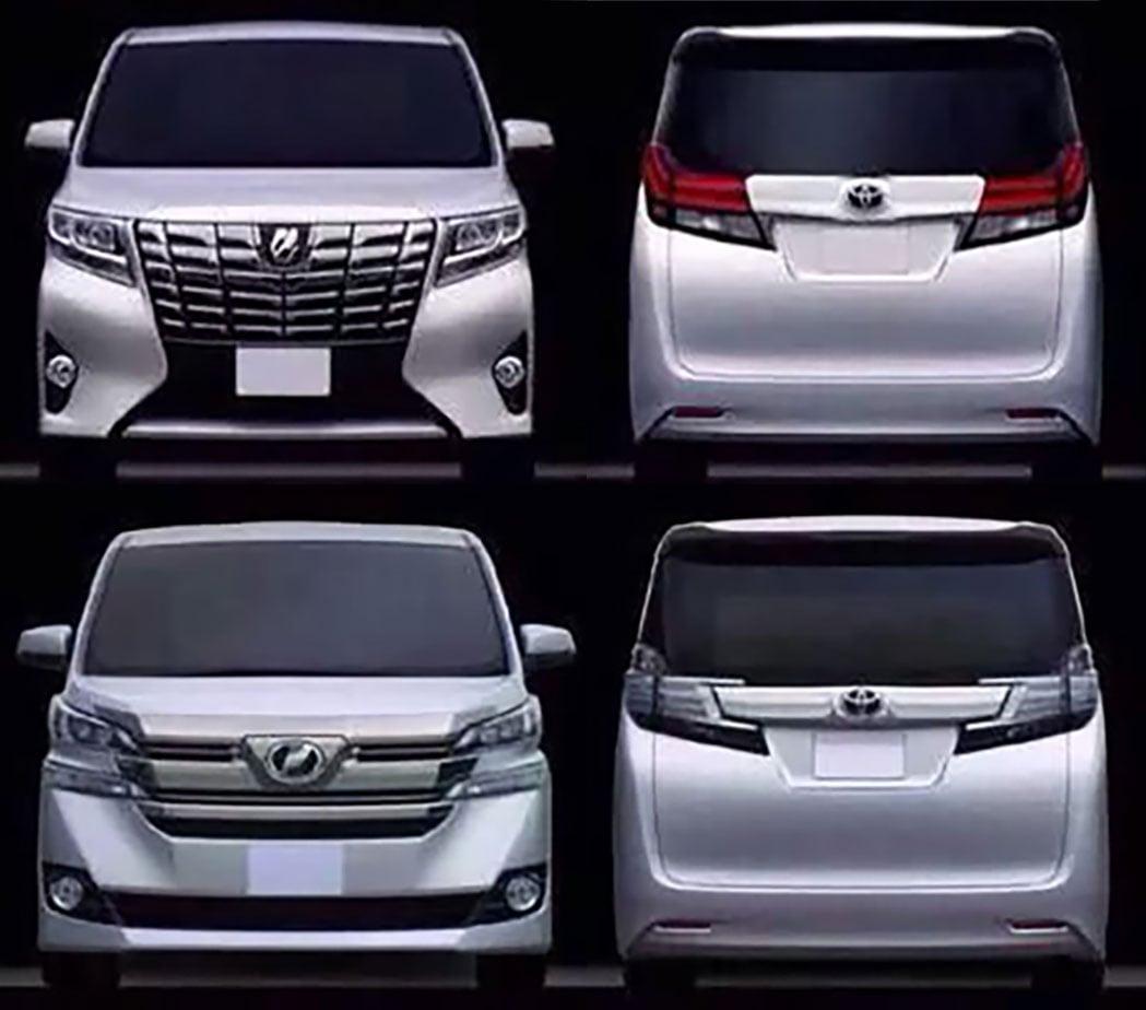 Toyota alphard vellfire leaked debut in january image 297635