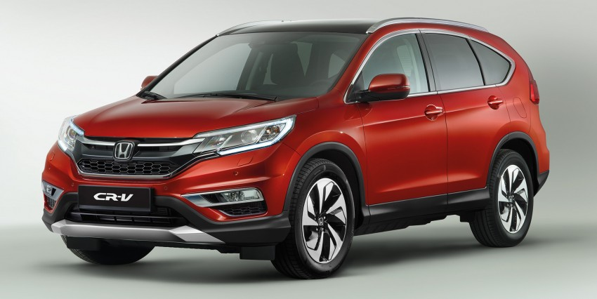 2015 Honda CR-V facelift – Europe gets 1.6 litre i-DTEC engine with 350 Nm, paired to a nine-speed auto'box Image #298978