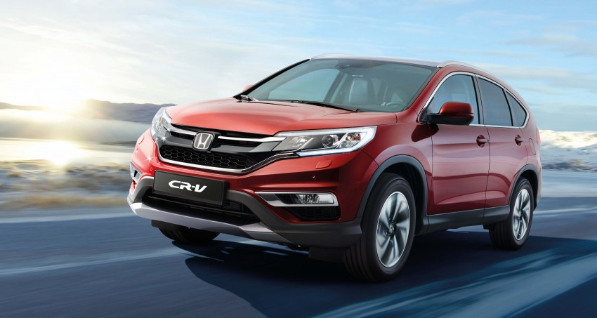 2015 Honda CR-V facelift – Europe gets 1.6 litre i-DTEC engine with 350 Nm, paired to a nine-speed auto'box Image #298979