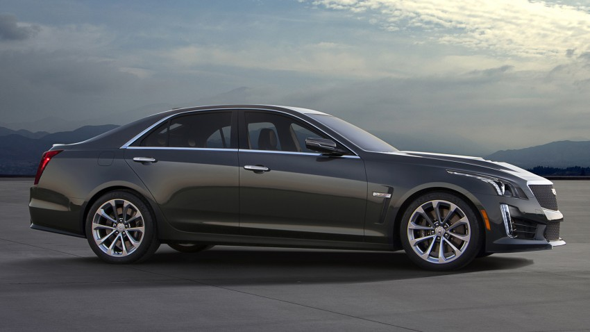 2016 Cadillac CTS-V to roll into Detroit with 640 hp Paul ...