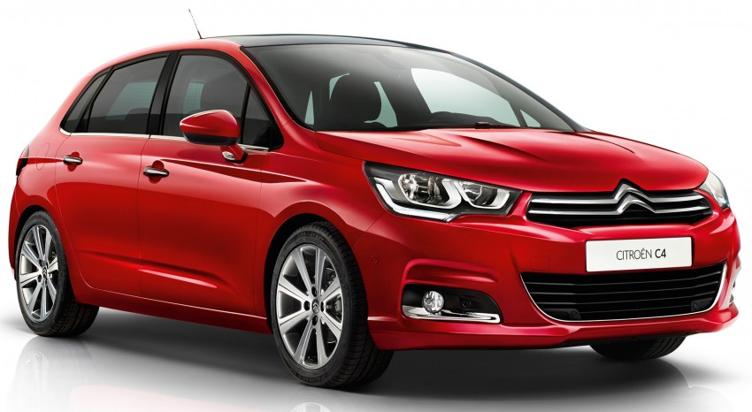 Citroen C4 updated with minor changes, new engines Image #295777