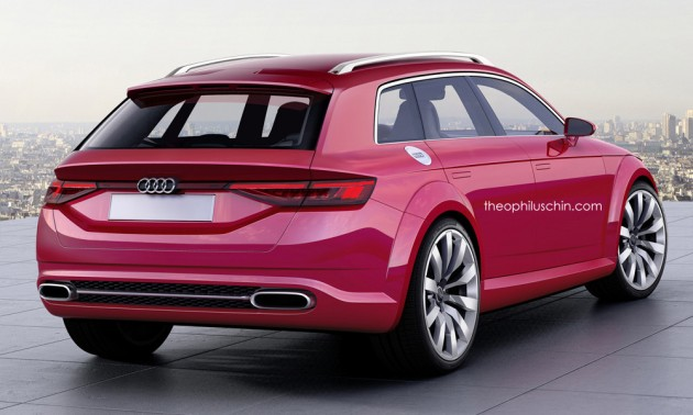 Audi TT Avant Concept 7