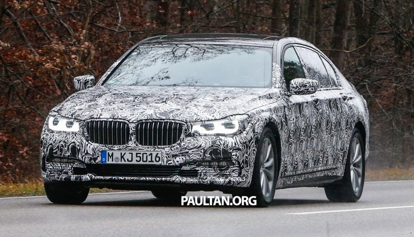 SPYSHOTS: G11 BMW 7 Series mule reveals details Image #293327