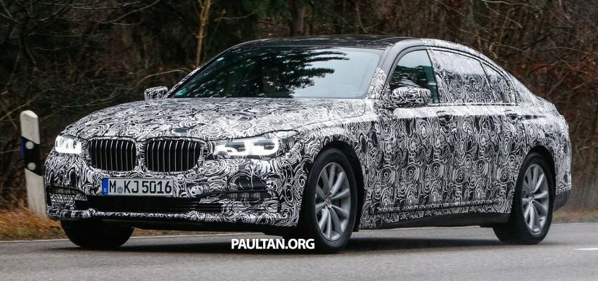 SPYSHOTS: G11 BMW 7 Series mule reveals details Image #293321