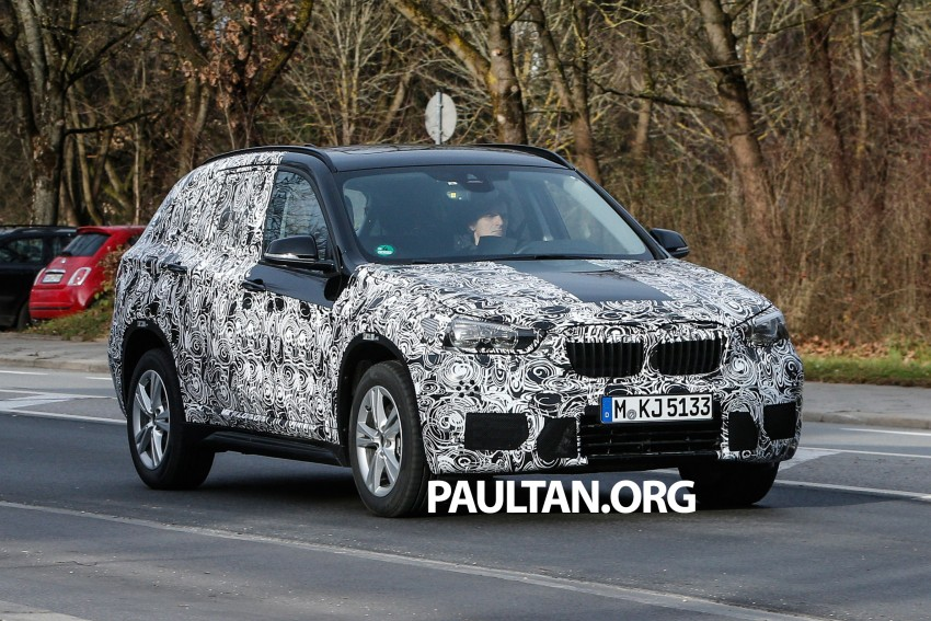 SPIED: F48 BMW X1 – FWD SUV loses some camo Image #296813