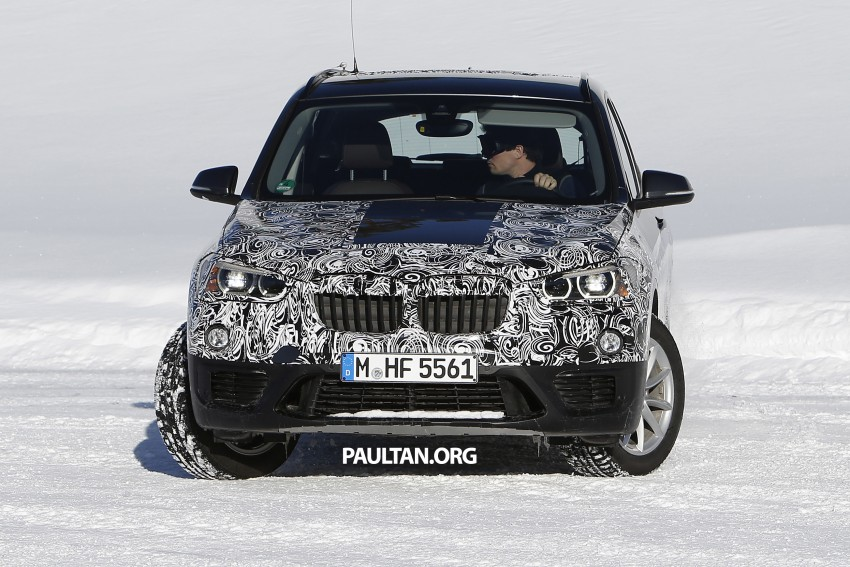 SPIED: F48 BMW X1 – FWD SUV loses some camo Image #319210