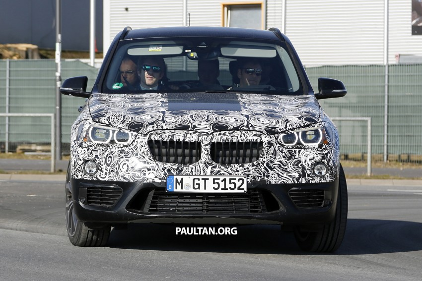 SPIED: F48 BMW X1 – FWD SUV loses some camo Image #319609