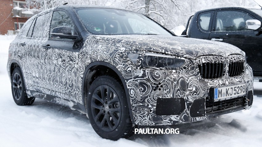 New BMW X1 – F48's front end spotted undisguised! Image #304970