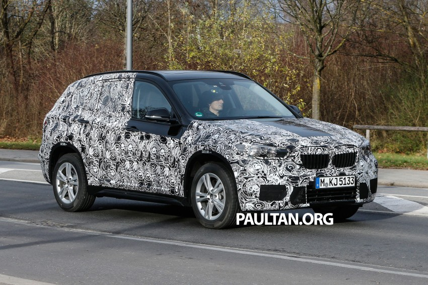 SPIED: F48 BMW X1 – FWD SUV loses some camo Image #296812