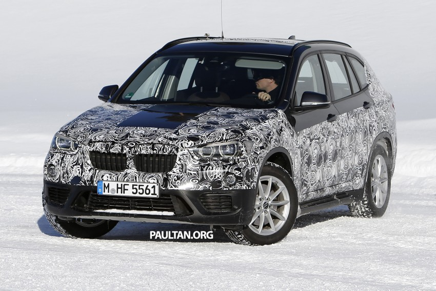 SPIED: F48 BMW X1 – FWD SUV loses some camo Image #319209