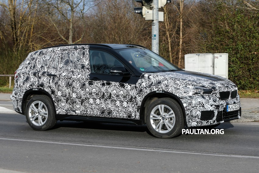 SPIED: F48 BMW X1 – FWD SUV loses some camo Image #296810