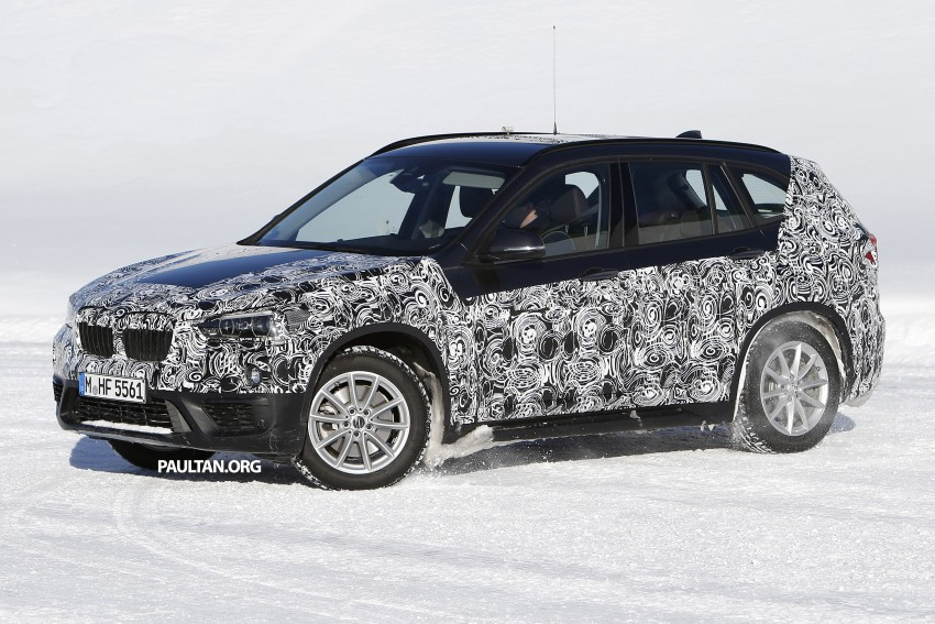 SPIED: F48 BMW X1 – FWD SUV loses some camo Image #319208