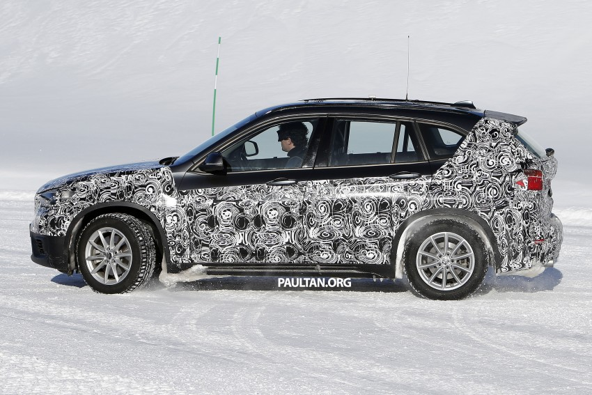 SPIED: F48 BMW X1 – FWD SUV loses some camo Image #319207