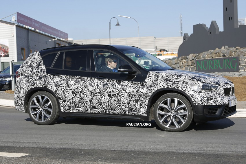 SPIED: F48 BMW X1 – FWD SUV loses some camo Image #319607