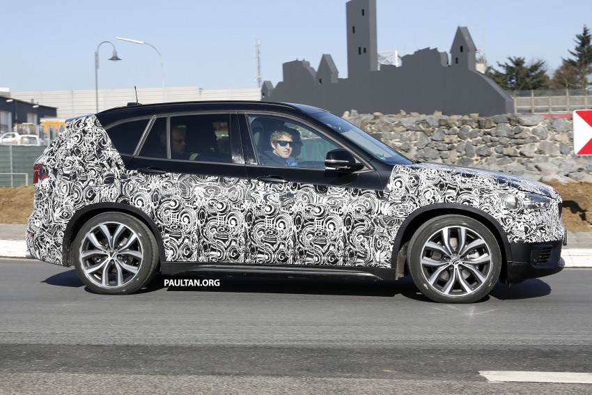 SPIED: F48 BMW X1 – FWD SUV loses some camo Image #319605
