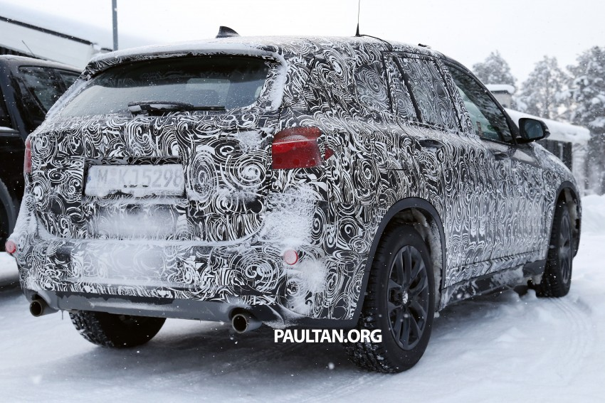 New BMW X1 – F48's front end spotted undisguised! Image #304961