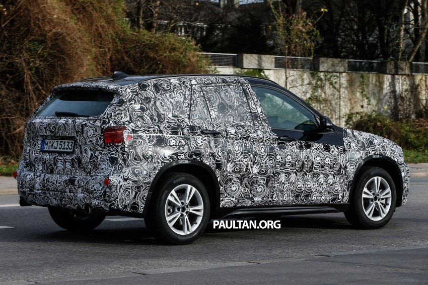 SPIED: F48 BMW X1 – FWD SUV loses some camo Image #296808