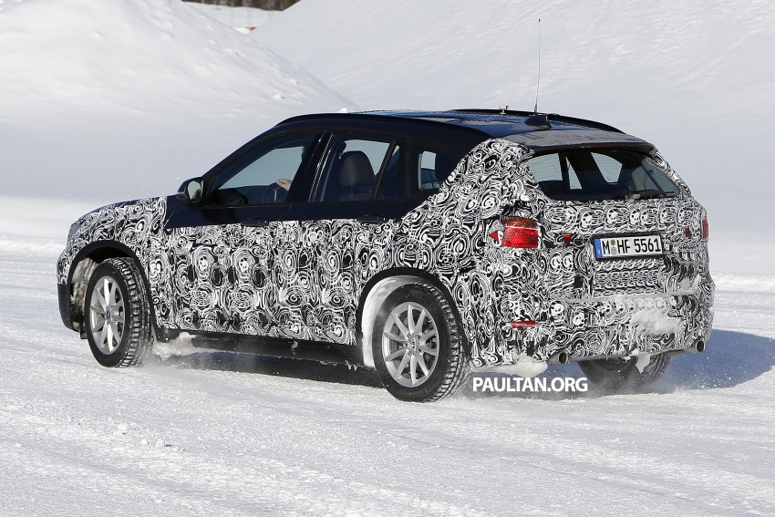 SPIED: F48 BMW X1 – FWD SUV loses some camo Image #319205