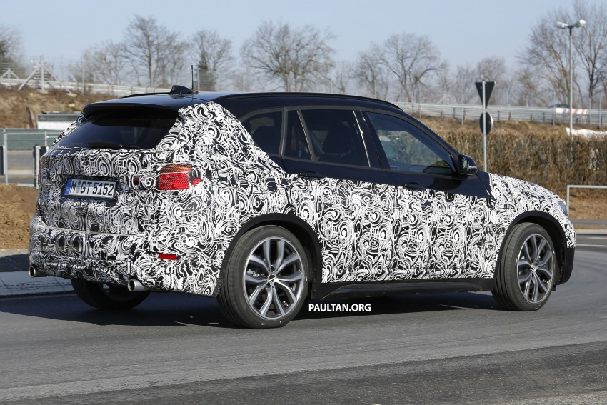 SPIED: F48 BMW X1 – FWD SUV loses some camo Image #319604