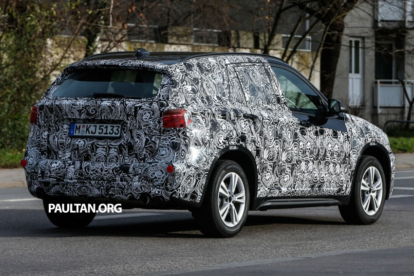 SPIED: F48 BMW X1 – FWD SUV loses some camo Image #296806