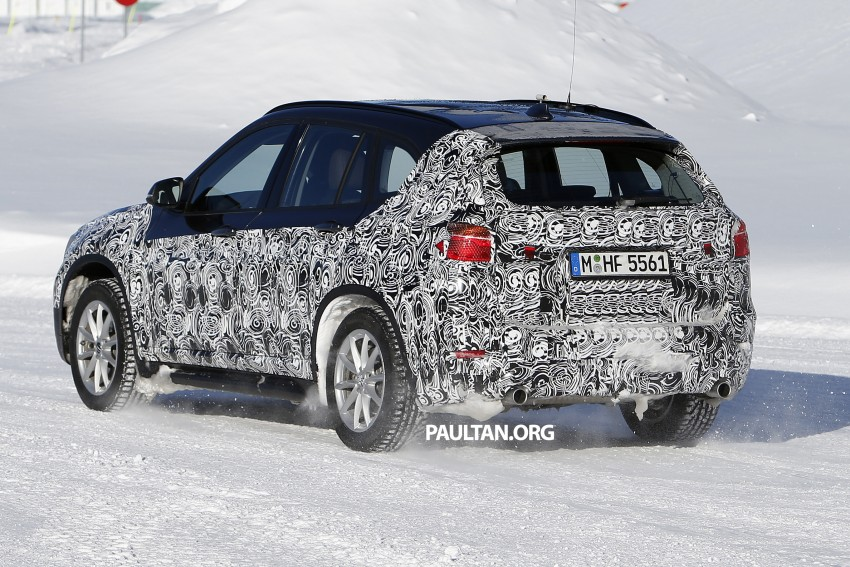 SPIED: F48 BMW X1 – FWD SUV loses some camo Image #319204