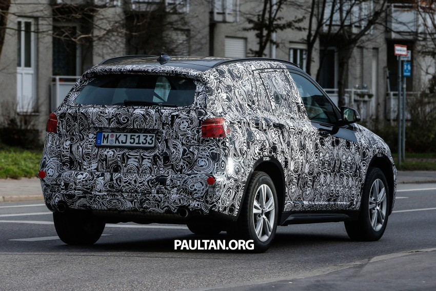 SPIED: F48 BMW X1 – FWD SUV loses some camo Image #296805
